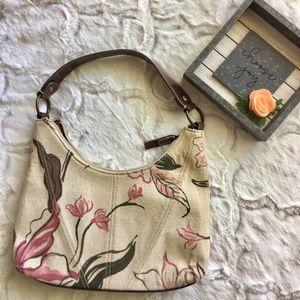 Liz Claiborne Canvas Handbag